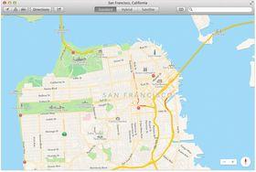 Apples karttjeneste kommer til Mac.
