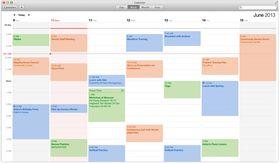 Kalenderen har fått ny design.
