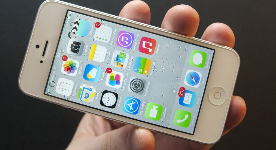 SNIKTITT: Apple iOS 7 – iPhone har blitt en ny telefon