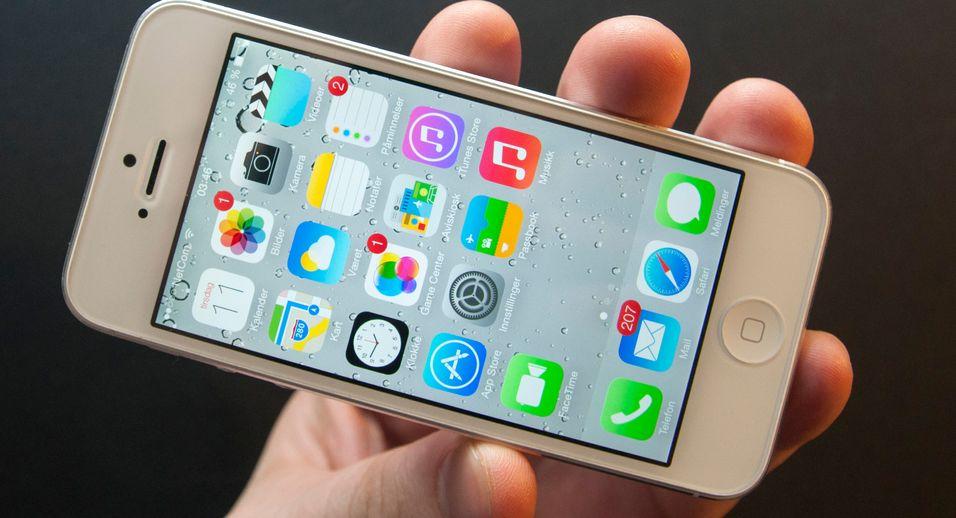SNIKTITT: – iPhone har blitt en ny telefon