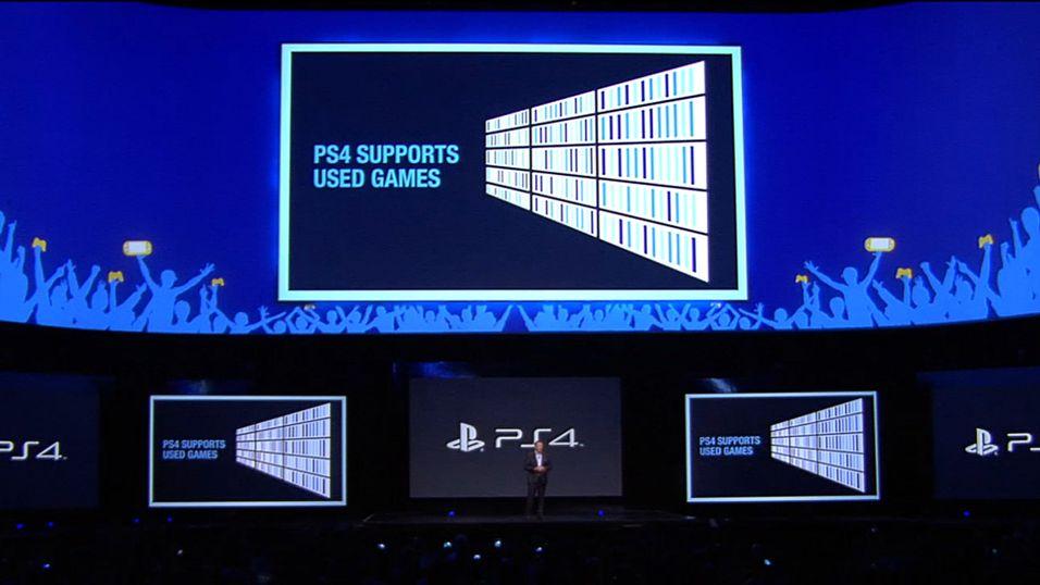 PS4 har ingen begrensninger på bruktspill