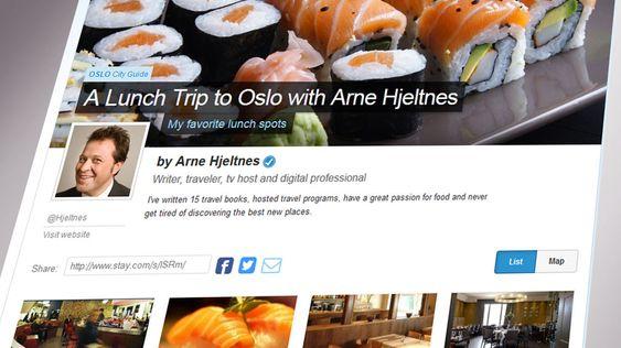"""Arne Hjeltnes er en av Stay.coms """"lokale kjennere""""."""