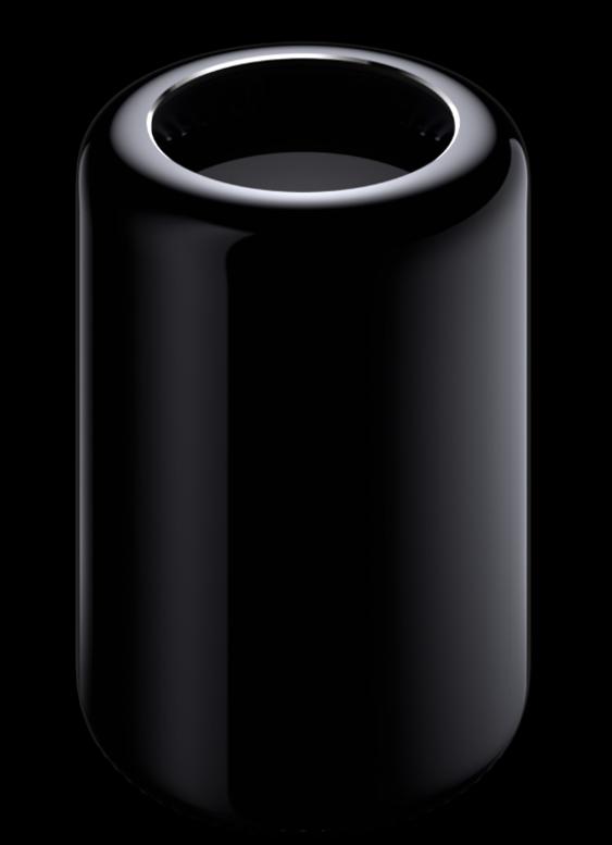 Fronten til nye Mac Pro.