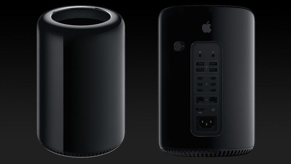 Nye Mac Pro er en sylinder