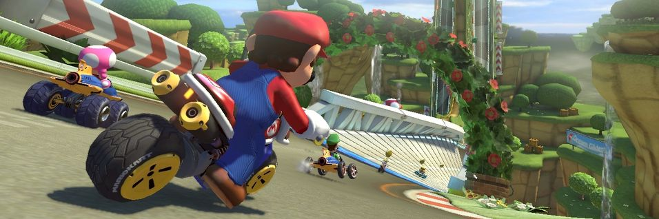 Mario Kart 8 snur serien på hodet