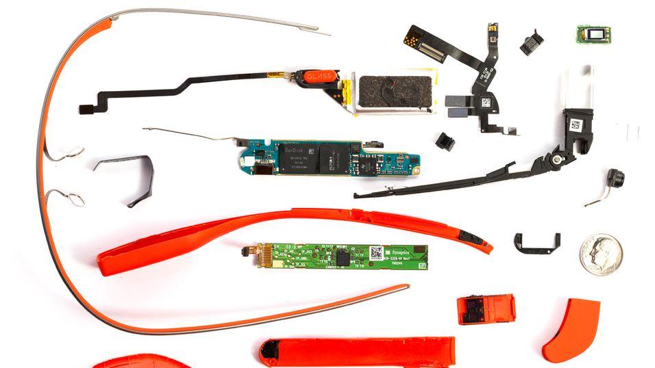 Slik ser Google Glass ut på innsiden