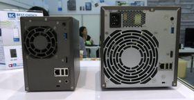 De to NAS-ene i 3-serien, sett bakfra.