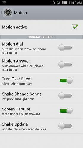 På vår ferd gjennom menysystemet kjenner vi igjen flere funksjoner fra konkurrentene. Her er det plukket fra både Samsung og HTC.