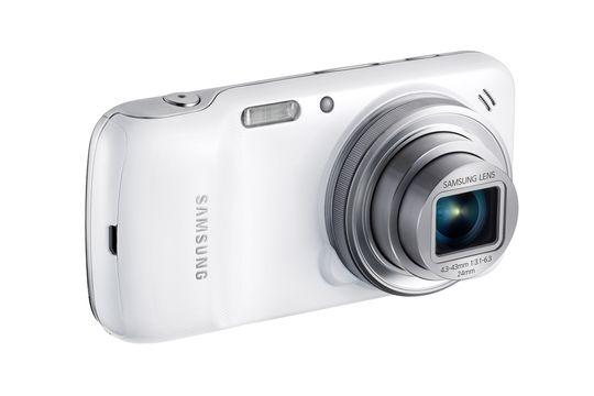 Kameramobilen kommer også i hvitt.