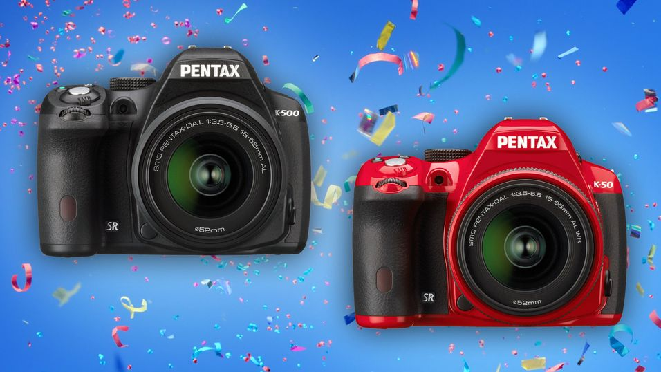 Pentax viser frem K-50 og K-500
