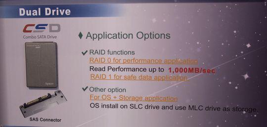 En SSD fra Apacer, med doble kontrollere, for ekstrem ytelse.