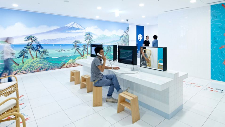 Sjekk ut Googles bisarre Japan-kontor