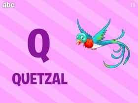 "Førsteklassing anno 2015: ""Q er for Quetzal, vel!?!""."
