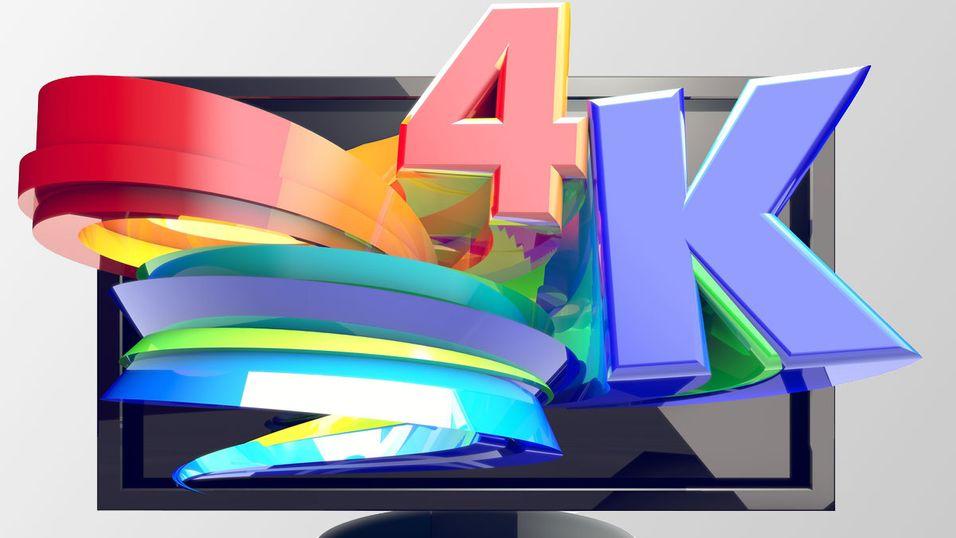 Nå tester Japan 4K-TV, som første i verden