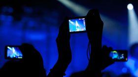 En av fordelene med LTE Advanced er at det blir lettere å levere kvalitet til mange samtidige brukere, eksempelvis på konserter, som her.