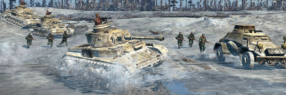 Test E3-demoen av Company of Heroes 2