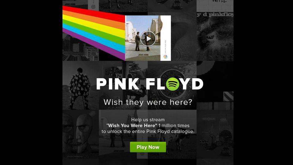 Nå kommer Pink Floyd på Spotify