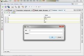 Databaseverktøyet.
