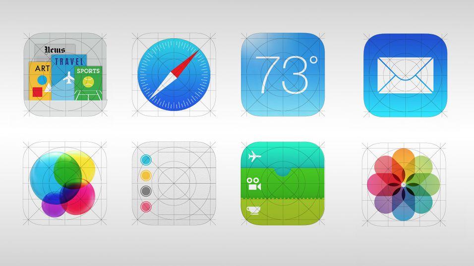 Bytter Apple ut de utskjelte iOS 7-ikonene?