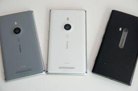 Lumia 925 kommer i flere farger.