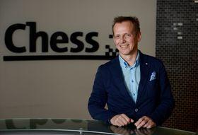 Chess-sjef Arve Andreassen.