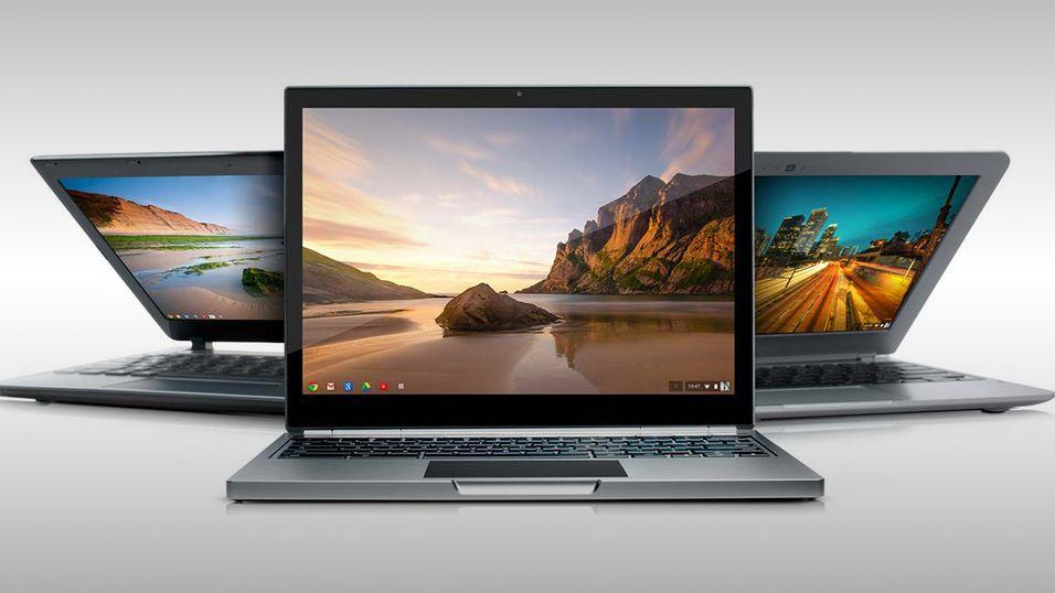 Chromebook er på vei til flere butikkhyller