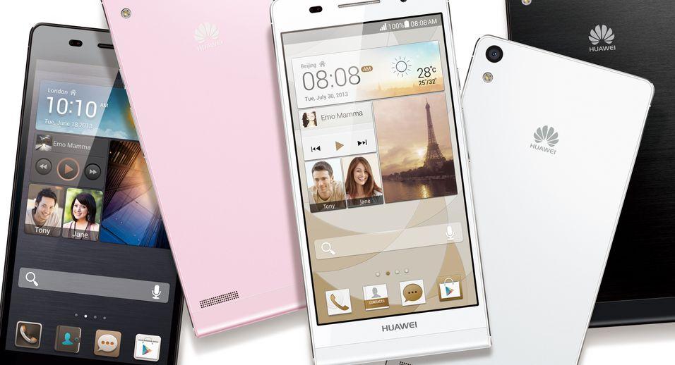 Huawei har lansert verdens tynneste smartmobil