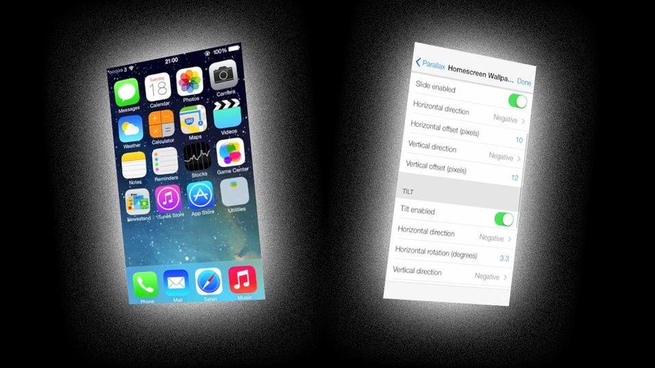 Skjulte iOS 7-innstillinger avslører hva Apple jobber med