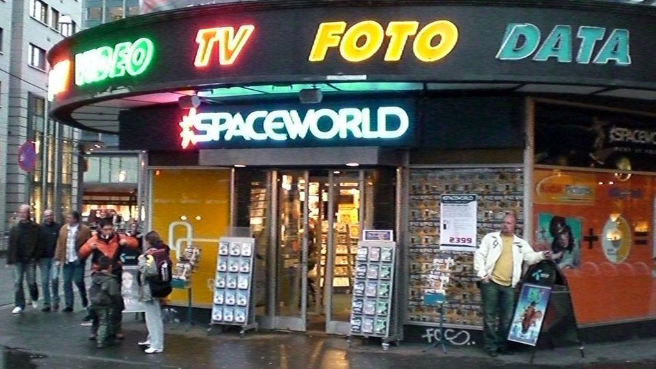 Spaceworld endrer kurs