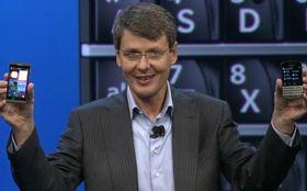 BlackBerry-sjef Thorsten Heinz var i sjeldent godt slag under årets lansering av BlackBerry 10, og telefonene Z10 og Q10.