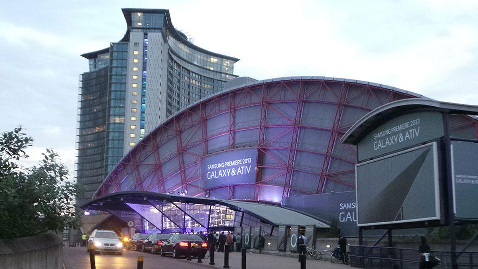 Dette viste Samsung i London