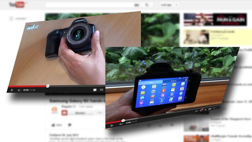 Se de første videotestene av Samsungs mobilkamera