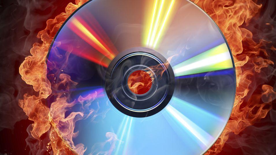Tusen terabyte på en DVD