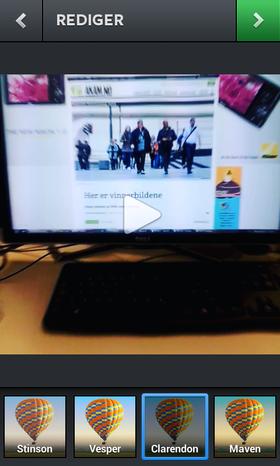 Slik ser Instagrams nye videofunksjon ut, sett fra Akam-redaktørens stol.