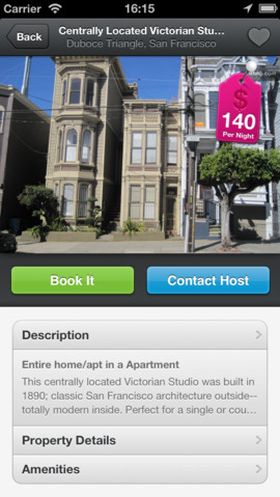 AirBnB (iPhone).
