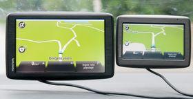 Vi synes svært ofte kartvisningen i de to TomTom-GPS-ene mangler litt detaljer. Når vi søker er de omtrent jevngode med Garmin - det er på oversikten under bruk de er svakere.