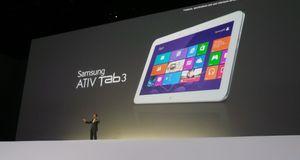 Samsung Ativ Tab 3 Samsungs nye Windows-brett er tynt og lett
