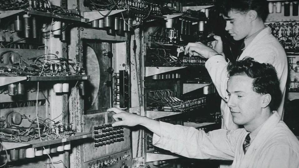 «Manchester Baby»-maskinen fra 1948.