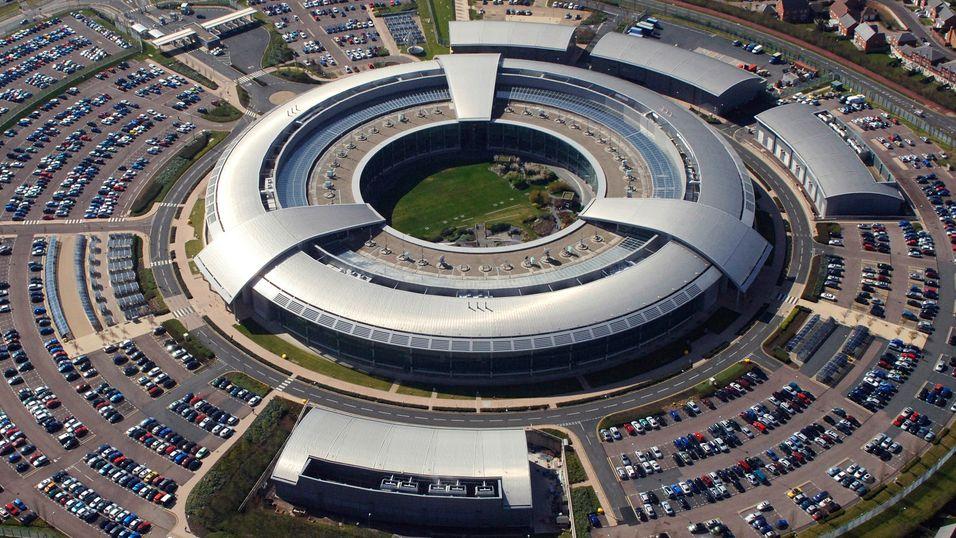 Hovedkvarteret til Government Communications Headquarters, den nye overvåkningssynderen.