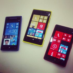 Windows Phone deler mange fellestrekk med Windows 8.