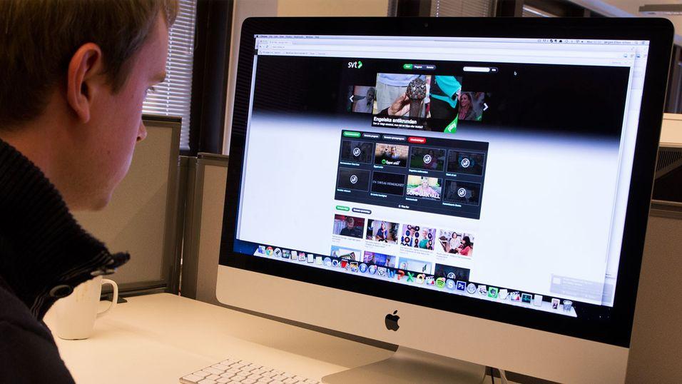 Svenskene må nå betale TV-lisens for PC, fordi SVTs sendinger kan ses på nett.