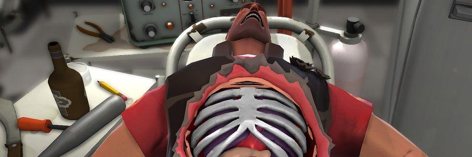 Nå kan du operere Heavy-soldaten fra Team Fortress 2