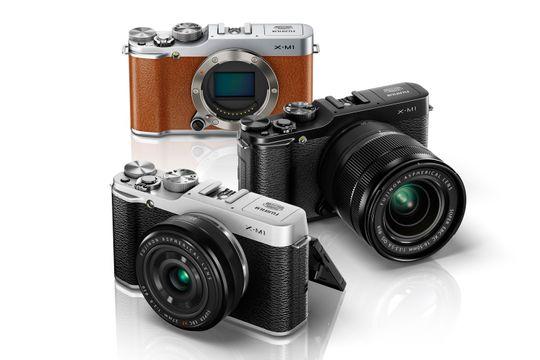 X-M1 kommer i tre ulike farger.