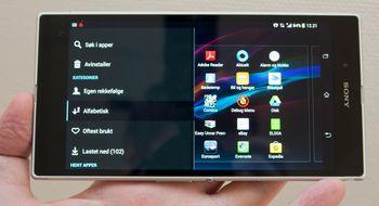 Sony Xperia Z Ultra Dette er Xperia Zs illsinte storebror