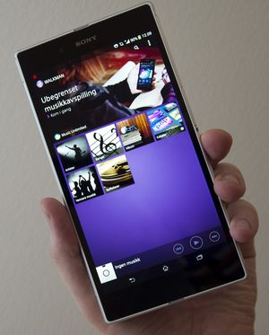 Sony Xperia Z Ultra.
