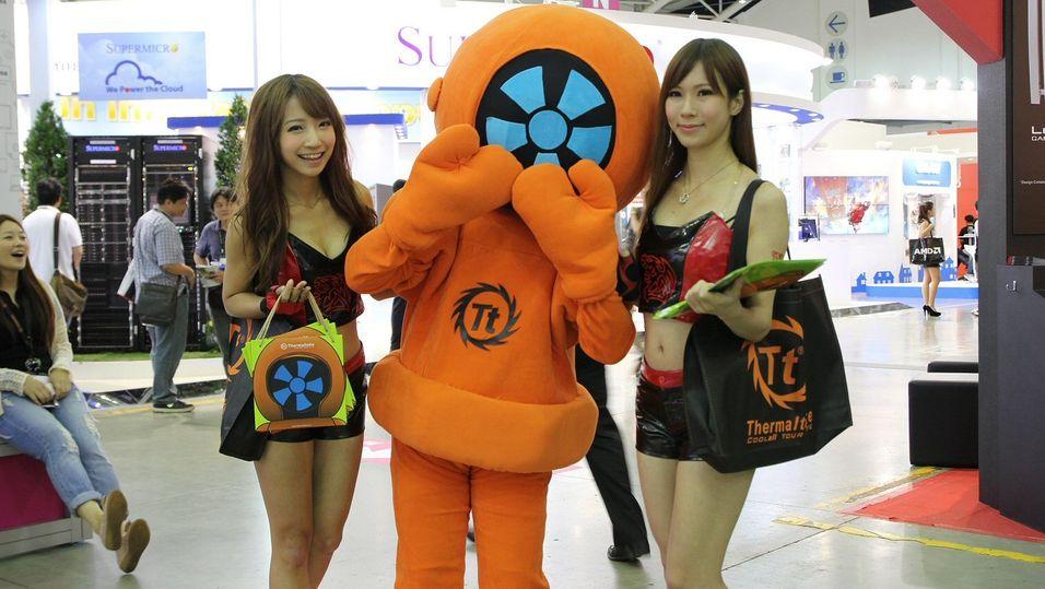 Se de siste blinkskuddene fra teknologimessa i Taiwan