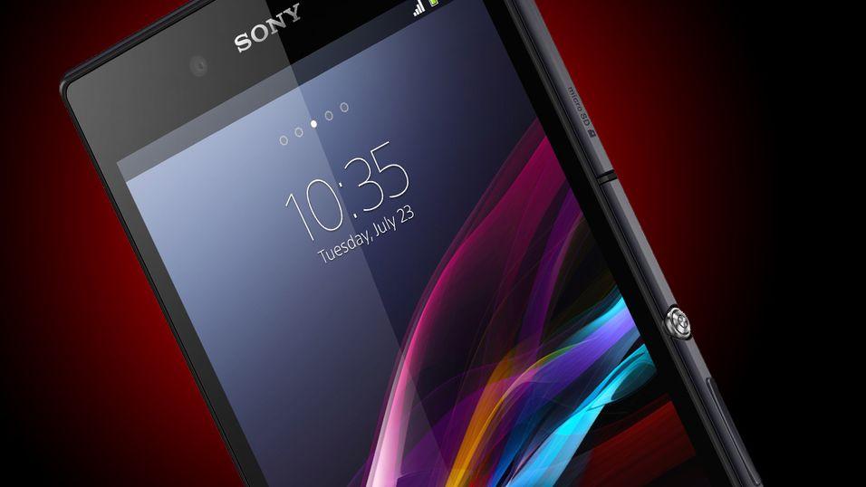 Sony slipper et monster av en mobil