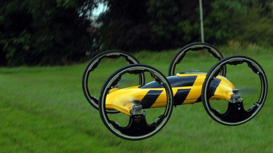 Flyvende bil finansieres på Kickstarter