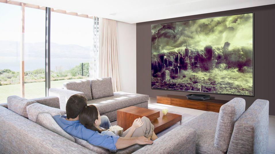 100 tommer tv