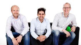 SOCOs gründere. Fra venstre Kenneth Stensrud Olsen, Keyhan Farahaninia og Marius Mæle.